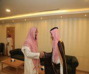 مدير عام الشؤون الإسلامية بالقصيم يستقبل محافظ النبهانية