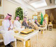 أمير القصيم يستقبل مدير الجامعة العربية المفتوحة