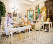 أمير القصيم يستقبل المشرف على جمعية حقوق الإنسان بالمنطقة