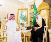 أمير القصيم يستقبل الفائز بالمركز الأول بجائزة الملك سلمان بن عبدالعزيز للدراسات العليا