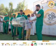 مسابقة الأوزان في مهرجان اضحيتي 40 ببريدة