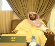 مدير عام فرع وزارة الشؤون الإسلامية بالقصيم يشرف لقاء المعايدة بالفرع