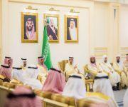 أمير القصيم يستقبل مدراء الجهات الحكومية ومنسوبي الإمارة بمناسبة عيد الأضحى