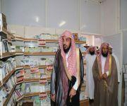 مدير عام فرع وزارة الإسلامية بالقصيم يتفقد إدارة المساجد والدعوة والإرشاد بمحافظة المذنب