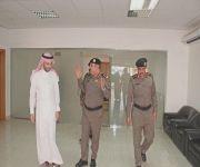 محافظ النبهانية يستقبل مدير شرطة منطقة القصيم