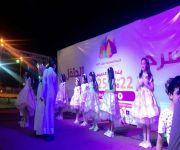 """فريق """" كيان غنج """" يقدم لوحات فنية في مهرجان الخيمة التسويقية بعيون الجواء"""