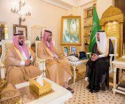 أمير منطقة القصيم يستقبل أحمد المرشد بمناسبة تكليفه مديراً عاماً لفرع وزارة الإسكان بالمنطقة