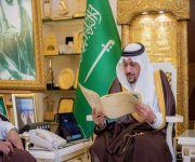 الأمير فيصل بن مشعل يستقبل مدير تعليم القصيم والطلاب الفائزين بمسابقة وزارة التعليم للقرآن الكريم