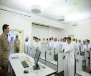 مدير تعليم البكيرية والطلاب يزورون معهد طيران القوات البرية بالقصيم*