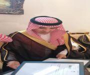 محافظ عنيزة يزور ابناء المرحوم الشيخ ابن حمدي بالاسياح