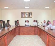 اجتماع لجنة درء مخاطر السيول بمحافظة النبهانية