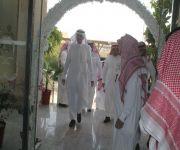 زيارة مساعد وزير العمل والتنمية الاجتماعيه في زيارة لمركز التأهيل الشامل في البكيرية