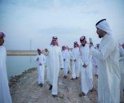 اعلاميي ومشاهير التواصل بميدان الملك سعود للفروسية بالقصيم