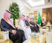 """أمير منطقة القصيم يستقبل أمين المؤسسة الخيرية لرعاية الأيتام """"إخاء"""""""