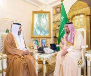 أمير القصيم يستقبل الدكتور السيف بمناسبة تعيينه مديراً لجامعة المستقبل