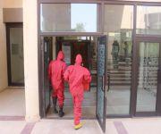 الدفاع المدني يباشر  تسرب غاز في معمل كلية العلوم الطبية بجامعة القصيم بالمليدا
