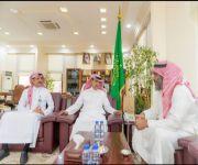 ممثلاً للنحالين في منطقة القصيم : أمين عام غرفة القصيم يستقبل أ. صالح الجربوع