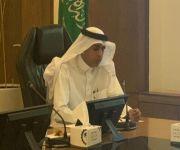 الفريدي يتلقى شكر مدير عام فرع وزارة العمل والتنمية الإجتماعية بالقصيم