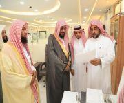 مدير فرع وزارة الشؤون الإسلامية بالقصيم  يزور إدارة المساجد بالشماسية