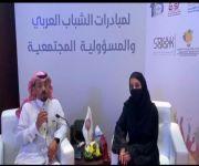 لقاء مع صاحبة السمو الأميرة فهده آل سعود لـمؤتمر مبادرات الشباب العربي للمسؤولية المجتمعية