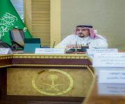 سمو أمير القصيم يلتقي الرئيس التنفيذي للتجمع الصحي بالمنطقة