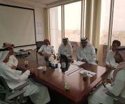 مكتب الضمان بالقصيم  يوقع شراكة أجتماعية ومذكرة تعاون مع مجموعة ( شركة لاندمارك العربية )