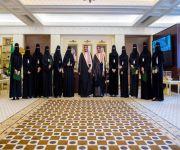 الأمير فيصل بن مشعل يستقبل أمين وأعضاء مجلس فتيات القصيم ويتسلم تقريراً عن معسكر تبيان