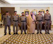 """أمير منطقة القصيم يقلد عدد من الضباط رتبتهم الجديدة بعد صدور الأمر السامي الكريم بترقيتهم لرتبة """"عميد"""