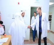 مستشفى الاسياح يستهل الحملة التطوعية في اربع عمليات جراحية