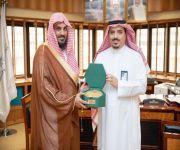 مدير فرع وزارة الشؤون الاسلامية بالقصيم يشكر معالي مدير جامعة القصيم