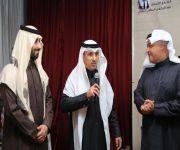 د. خالد البياري زار مهرجان الغضا وشارك في منتدى البطحي الثقافي
