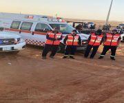 فرع هيئة الهلال الأحمر السعودي بمنطقة القصيم يقوم بكافة التجهيزات اللازمة للاستعداد للتغطية الطبية لفعاليات رالي دكار السعودية