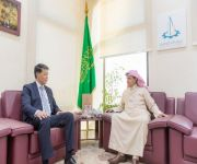 أمين عام غرفة القصيم الاستاذ الحنايا يلتقي السفير الكازاخستاني