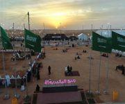 """محافظ البكيرية يزور مهرجان الربيع 41 تحت شعار """"لا تخلوننا"""""""
