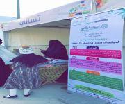 جمعية كنوز للأنامل المبدعة تشارك في مهرجان ربيع البكيرية بعدد 4 من أركان الأسر المنتجة