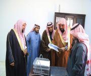 ( العتيبي يتفقد إدارة المساجد والدعوة والإرشاد بمحافظةضرية )