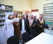 العتيبي يتفقد إدارةالمساجد والدعوة والإرشاد بمركز دخنة