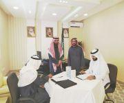 توقيع عقد شراكة بين مكتب التعليم جنوب بريدة و عمدة حي السالمية