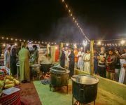 """مهرجان """"معية الخبراء"""" الرابع يفتح أبوابه للزوار في القرية التراثية"""