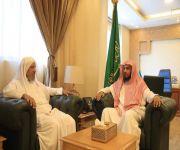 مدير عام فرع وزارة الشؤون الإسلامية بالقصيم يستقبل فضيلة عضو الإفتاء بالمنطقة