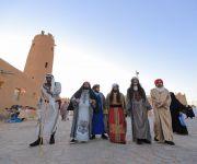 المهرجان يصل في يومه الرابع إلى 25 الف زائر  « مخيم علم غانم ».. واجهة بطابع تراثي لمهرجان «معية الخبراء 4»