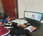 """بالمدرسة الافتراضية .. طلاب """"تعليم القصيم"""" يتجاوزون """"التعليق"""" بنجاح"""