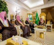 الأمير فيصل بن مشعل يلتقي مدير عام الشؤون الإسلامية بالقصيم ومساعده بمناسبة تكليفهما