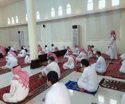 فرق الهلال الاحمر بالقصيم الصحية والتطوعية تشارك  الشؤون الإسلامية في ١٢ جامع في نقاط الفرز