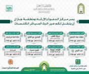 الشؤون الإسلامية تنظم عدداً من الكلمات الوعظية بجازان خلال الشهر الجاري