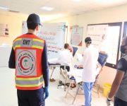 اليوم العالمي للتبرع بالدم في فرع هيئة الهلال الأحمر بمنطقة القصيم
