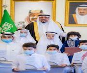 سمو الأمير فيصل بن مشعل يكرم 31 طالباً وطالبة الفائزين بجوائز محلية ودولية وعلى المستوى الوطني بالمشروع الوزاري في تعليم القصيم