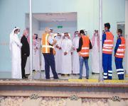 بالصور معالي وزير النقل يزور  مقر المعهد السعودي التقني الخطوط الحديدية