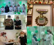 جمعية الإرشاد الأسري والنفسي تُكرّم أبطال الصحة بمناسبة ذكرى اليوم الوطني السعودي
