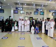 مطار الأمير نايف الدولي يحتفل باليوم الوطني 90